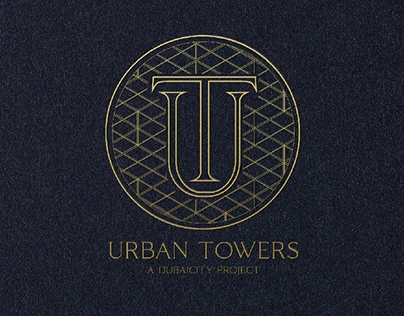 Urban Towers Logo and landing page