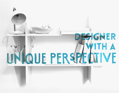 Designer with a Unique Perspective - D&AD Yellow Pencil