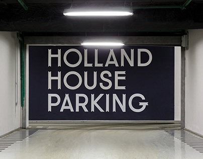 Holland House. Parking Navigation