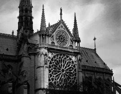 Paris, a black&white perspective