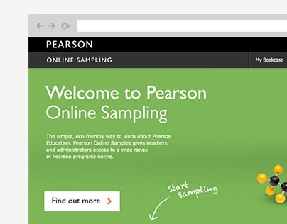 Pearson – Online Sampling