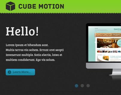 Cube Motion Website