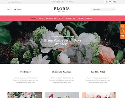 Floris Free - Free WooCommerce WordPress Theme