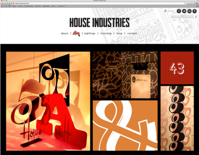 House Industries Type Foundry