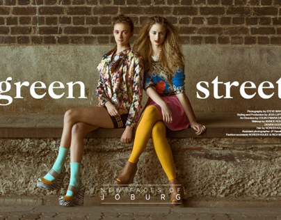 Green Street for Gaschette Magazine