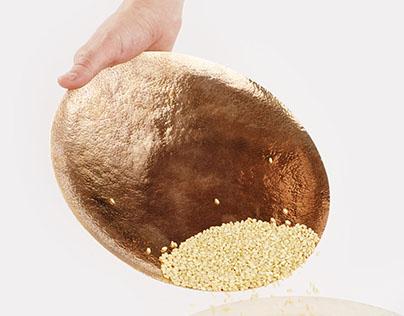 Collaboration Projet: La Macina – Meule à grains