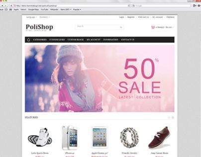 Polishop Premium Responsive HTML Template.