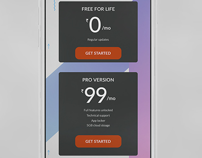 DAY 30. Daily UI Challenge. Pricing page.