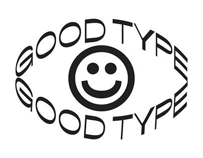 TYPOGRAPHIC POSTER GOOD TYPE FOUNDRY