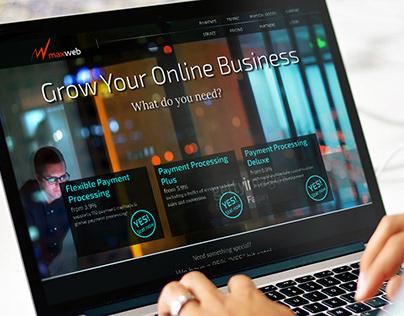 MaxWeb website | branding, website