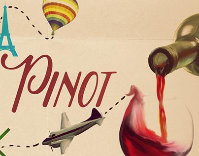 Header Design – The Passport & the Pinot