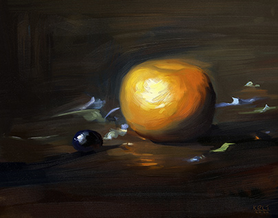 Still Life Digital Study from David A Leffel