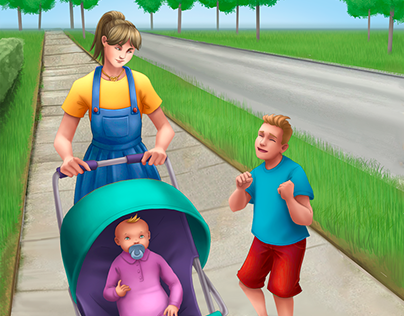 Nanny - Best Babysitter Game