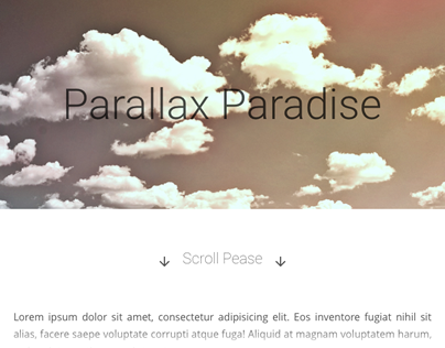 Parallax Paradise