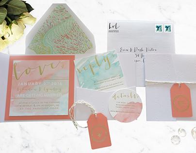 Wedding Invitations & Assets
