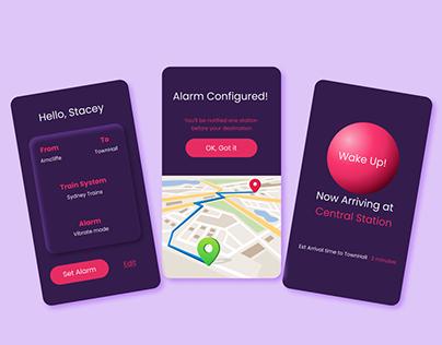 Commute Alarm App