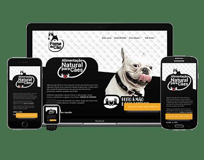 Website - Fome de Cão