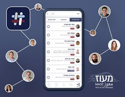 Maoz - exclusive social app