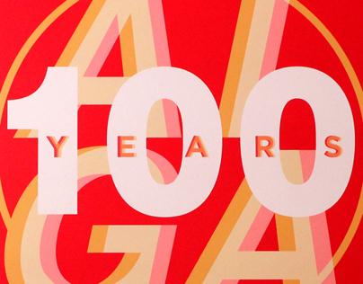 AIGA 100 Years