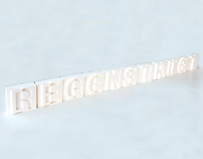 Degenerate/Reconstuct - Experimental Typography