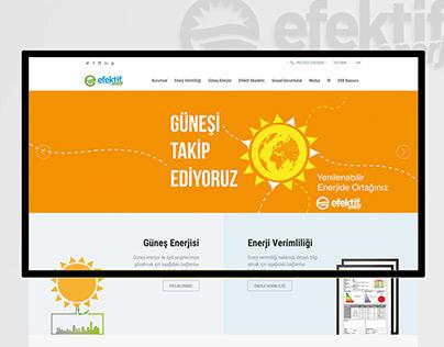 Efektif Enerji - User Interface Design