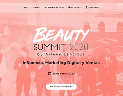 Beauty Summit 2020 - Website