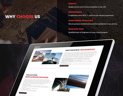 Telecom Corporate website