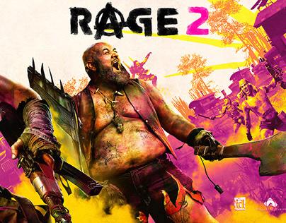 Rage 2 Secondary Key Art