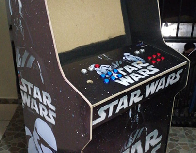 Arcade machine Star wars