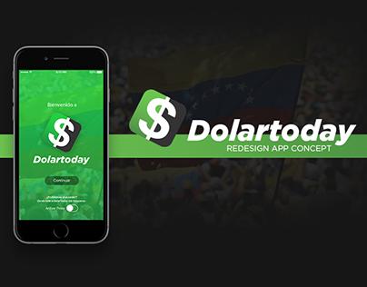 DolarToday - Redesign App Concept