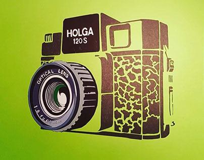 Holga 120S 1982 + paper