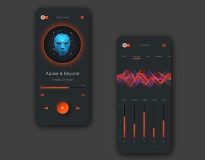 Music Player For Mobile App | UI Design