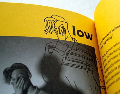 Editorial Illustrations for Rave Mag
