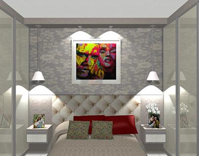 Quarto Suite Móveis sob medida 100% MDF