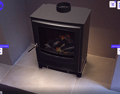 AR Stove with Occlusion Demo