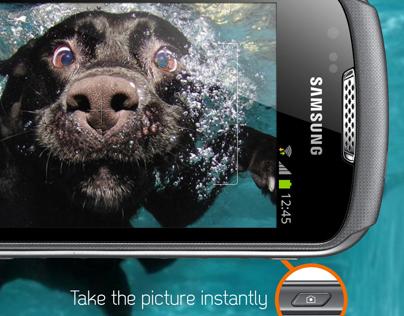 Waterproof phone commercial