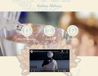AndreaAlchemy.com brand design