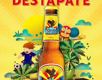 Proyecto personal Destápate Cerveza Aguila