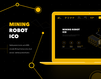 Mining robot ICO