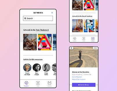 KUMBAYA :: Art discovery app