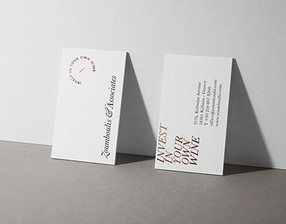Zoumboulis & Associates - Identity Design