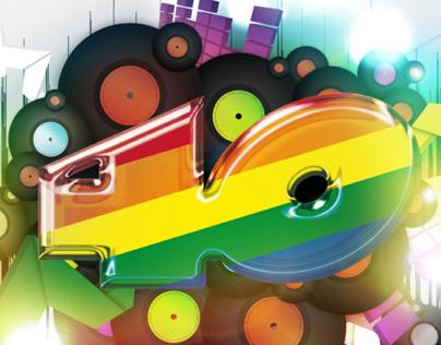 Diseño aplicación LG Los 40 Principales