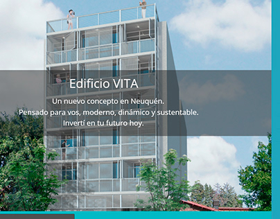 WEB desing VITA Edificio.