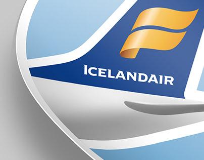 Icelandair promo sticker