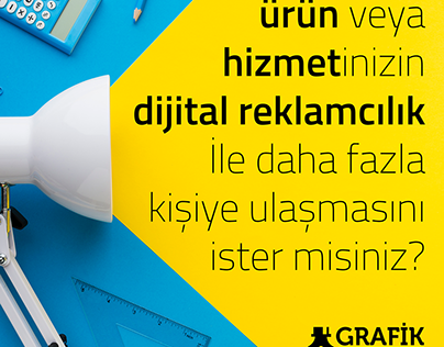 Grafik Tasarım / Grafik Ofisi Ajans
