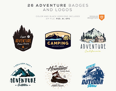 Adventure Badges and Logos
