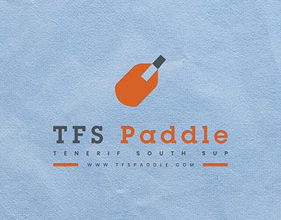 TFS Paddle logo Design