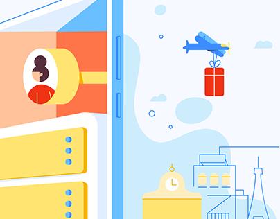 GearedApp Branded Illustrations & Animation
