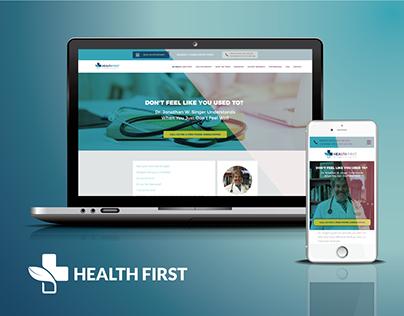Health First - Redesign UI Alternative Medicine website
