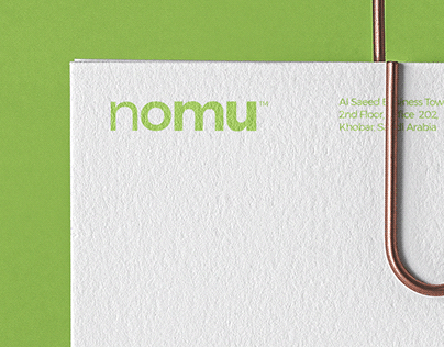 nomu - Logo design